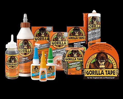 Gorilla limprodukter - hitta den perfekta produkten för dig